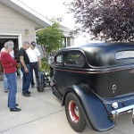 A friend of Kenny's stopped by with his custom hot rod.