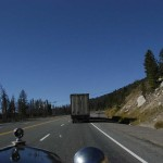 We actually passed this truck making its way up toward the divide. The only vehicle we have passed in 8 days on the road.