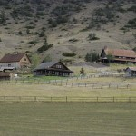 We have passed many beautiful ranch homes. I wonder how many are vacation homes and how many are working ranches.