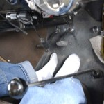 Merv kicked off his shoes at one long stretch of frontage road and used the accelerator on the steering wheel column.