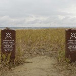Merkers where two indian warriors fell.