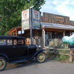 Our motel in Broadus, MT