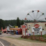 Black Hills. We didn't see any of this in Montana
