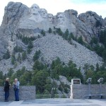 Larry and Linda at Mt Rushmore