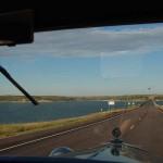 Heading east across the Missouri