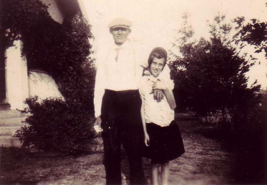 Detlev Julius Behrens and daughter Caroline