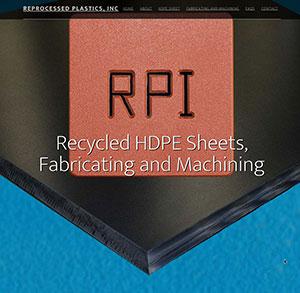Reprocessed Plastics home page