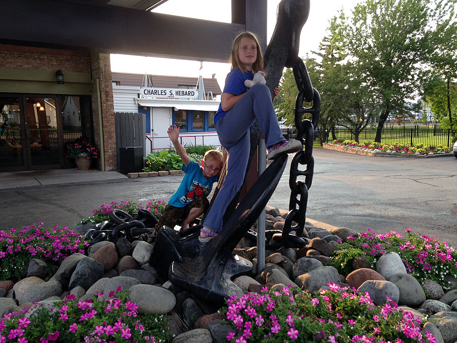 Anchor at our Best Western in Superior, WI