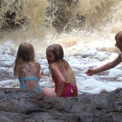 Amnicon Falls Splash